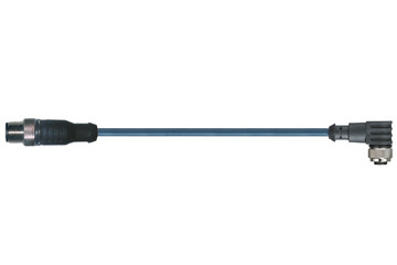 chainflex® cable de enlace angulado M12 x 1, CF.INI CF9